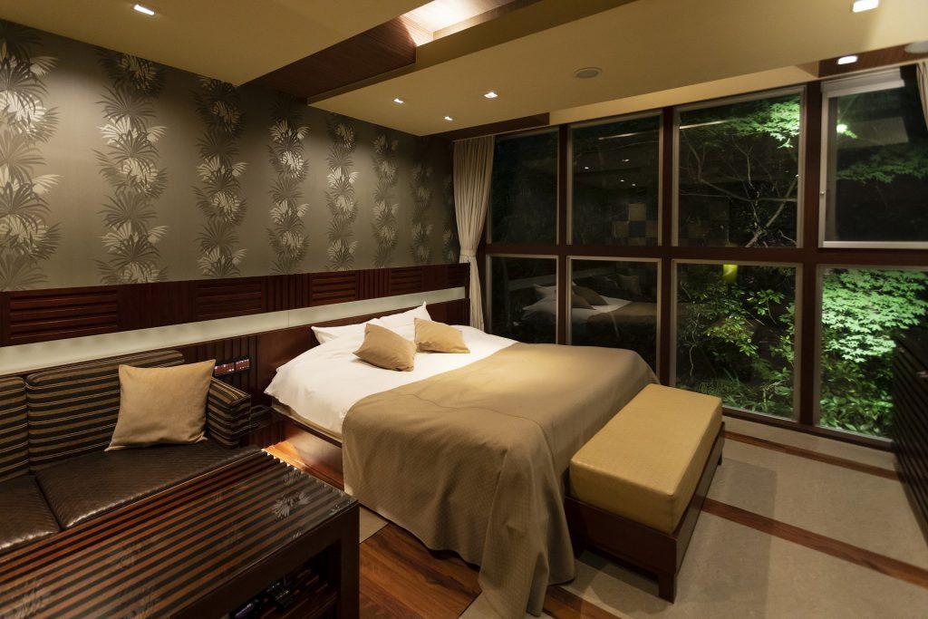 ホテル現代楽園伊勢原のお部屋